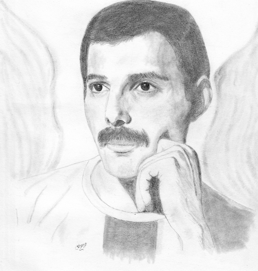 Freddie Mercury by Johanne